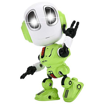 Mini Robotic Toys With LED Eyes Contact Control Best Birthday Gifts for 3 Year Child