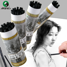 Marley Cotton Willow Sketch Carbon Bar Art Special Soft Sketch Carbon Bar Charcoal Bar Students Art Supplies