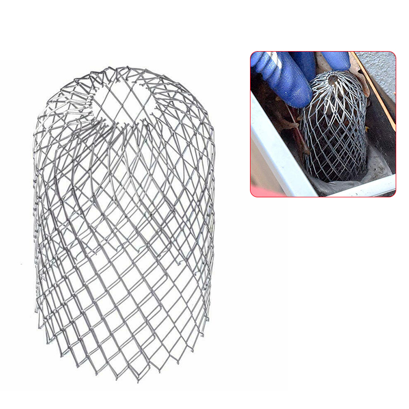 Strainer Stops Blockage Leaves Debris Leaf Filter For Garden Gutter Guard Expand Aluminum Filter
