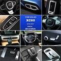 Автомобильная Наклейка ABS для VOLVO xc60, аксессуары 2018, 2019, 2020, 2021, декоративная наклейка для автомобиля, молдинг интерьера