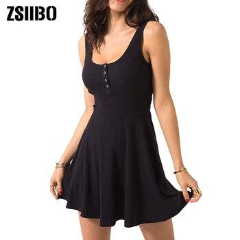 Summer Clothes Bodycon Mini Tank Dress