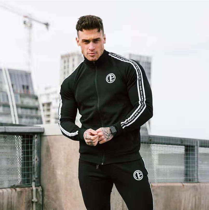 Men Track Suit Hoodies And Pants For Men 2 Pieces Set  Men Cotton Tracksuit Mens Sweat Suits