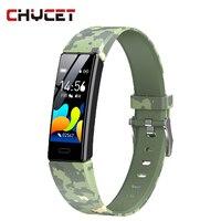 Pulsera inteligente para hombre y mujer, reloj con Monitor de ritmo cardíaco y presión arterial, pantalla a Color, 2021