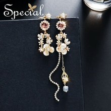 special European and American s925 silver-pin, ear decoration,ear pins,stud earrings , cherry, afternoon tea