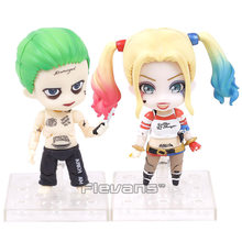 Nendoroid Suicide Squad Harley Quinn 672 / Joker 671 PVC Action Figure Collectible Model Toy(China)