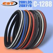 CST C1288 20 дюймов 451 велосипед шины 20 × 1-1/8 28-451Yellow край 20 дюймовые велосипедные шины