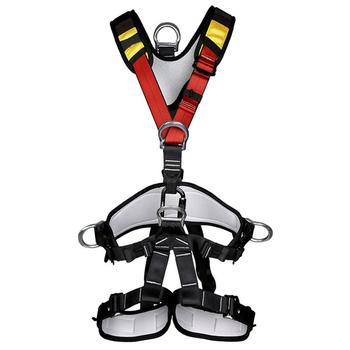 Outdoor Rock Climbing Rappelling Outward Band Full Body Safety Harness Seat Belt