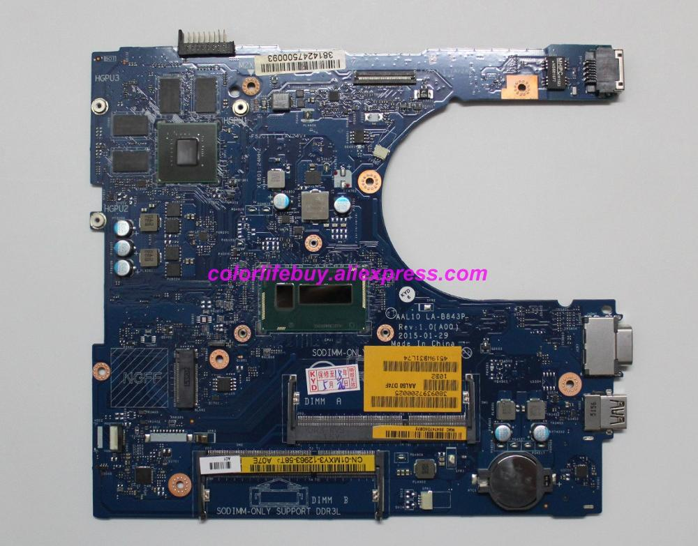 Genuine CN-01MXY3 01MXY3 1MXY3 AAL10 LA-B843P I5-5250U N15V-GM-S-A2 Laptop Motherboard For Dell Vostro 3558 Notebook PC