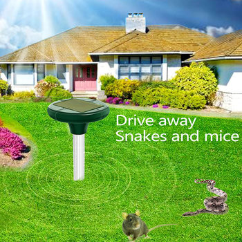 400-1000(HZ) Ultrasonic Snake Repeller Animal Eco Friendly Insect Rodent Control 1.2V 800MAH Electronic Ultrasonic Rat Repeller image