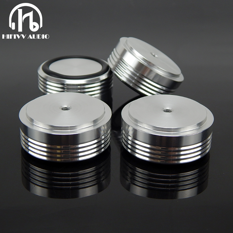49*12mm Stainless Steel Speaker Spike Cone Pad Base Feet HiFi Audio Amplifier