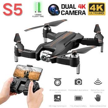S5 Drones 4k HD Dual Camera Hd Drone Rc Helicopter Drone Toys Quadcopter Drone Quadrocopter Helikopter Drone Selfie