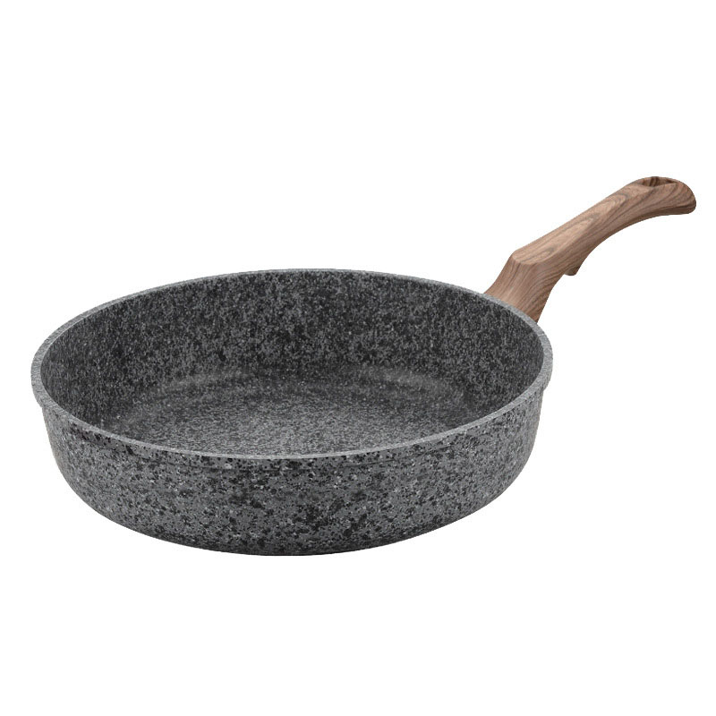 Kitchen Pot Thickening Non-stick Frying Pan Medical Stone Multi-purpose Pancake Steak Pan Maker Pastry No Fumes Use Gas Wok