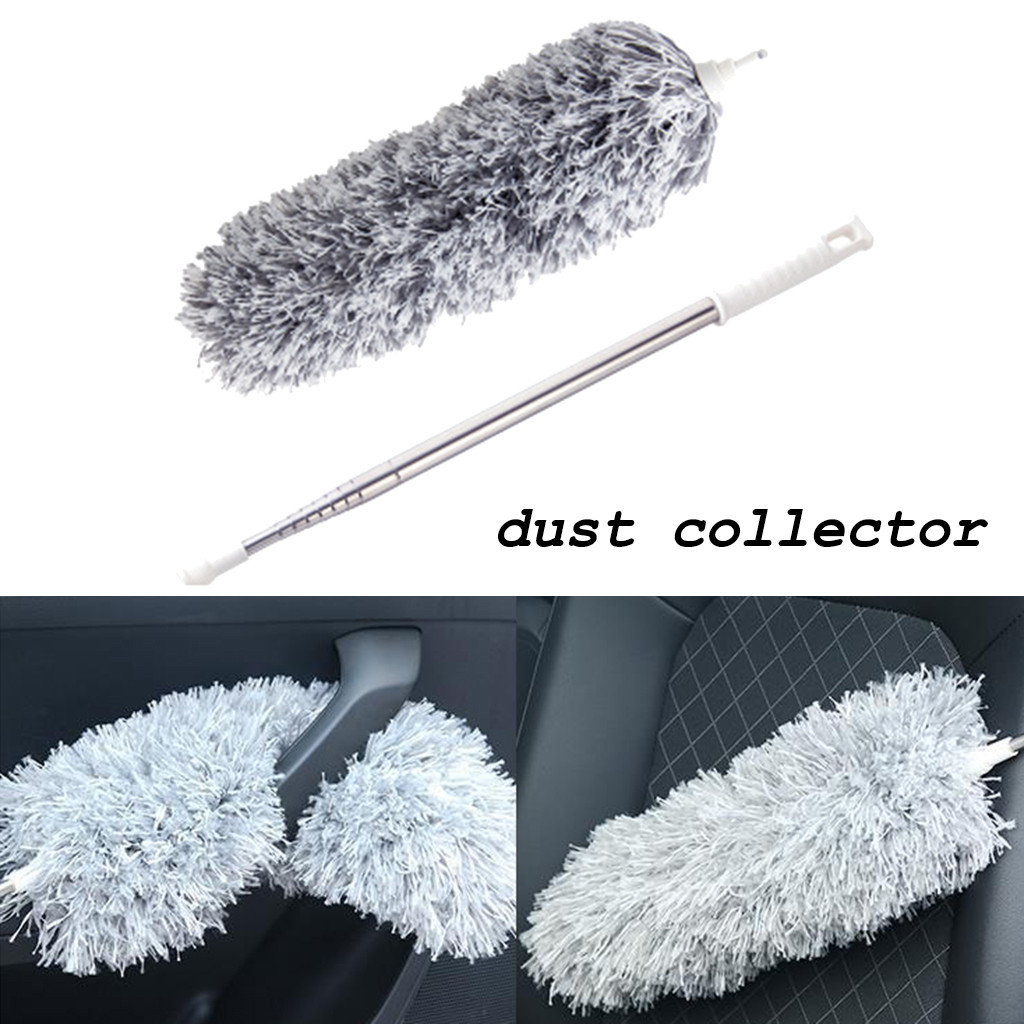 Retractable Microfiber Cleaning Brush