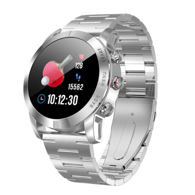 DeaGea S10 Sport Business Men Smart Watch IP68 Blood Pressure Heart Rate Activity Tracker Compass <font><b>Smartwatch</b></font> Connect Android IOS image