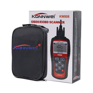 Image 5 - KONNWEI KW808 OBD2 Car Fault Code Reader Scanner Automotive Diagnostic Tool OBDII code reader