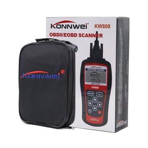 Image 5 - KONNWEI KW808 OBD2 רכב תקלת קוד Reader סורק רכב כלי אבחון OBDII קוד קורא