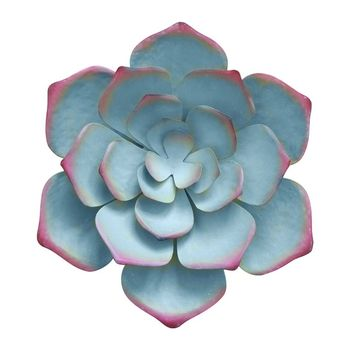 Metal Flower Wall Decor - 14.1'' Art Decorations Hanging for Bedroom 667A - discount item  26% OFF Home Decor