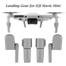 SUNNYLIFE Landing Gear Extensions Collapsible Heightened Landing Gear Leg Support Stabilizers Protector for DJI Mavic Mini Drone