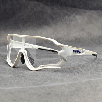 Photochromic ciclismo óculos de sol homem & mulher esporte ao ar livre óculos de bicicleta óculos de sol óculos de sol gafas ciclismo 1 lente 30