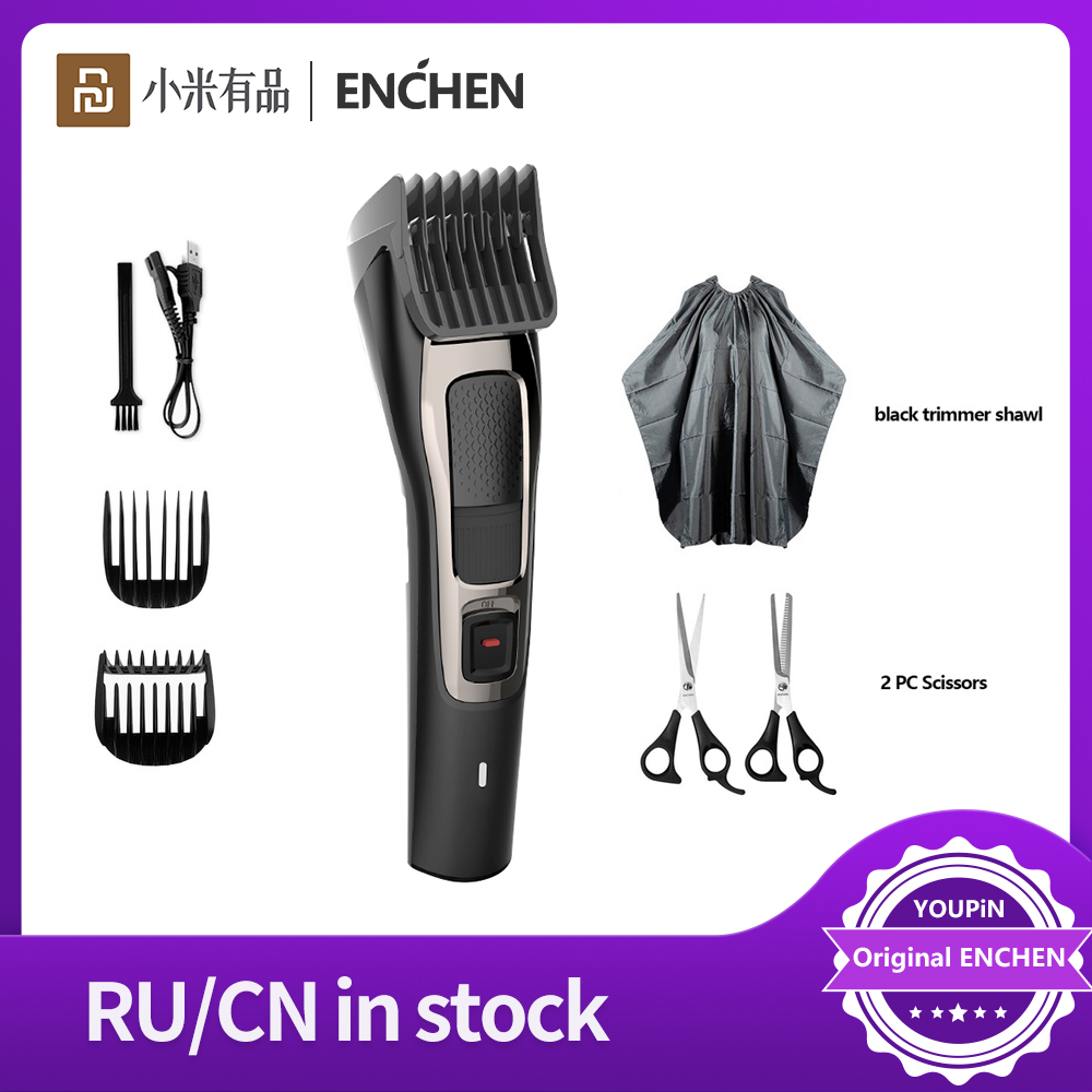ENCHEN Sharp3S Men's Electric Hair Clipper USB Rechargeable Professional Wireless Hair Trimmer Hair VS Barber Low Noise