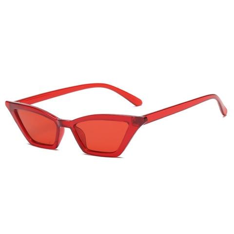 1Pcs Vintage Cat Eye Sunglasses Fashion Women Small Frame UV400 Sun Shades Glasses Street Eyewear Luxury Trending Sunglasses Multan