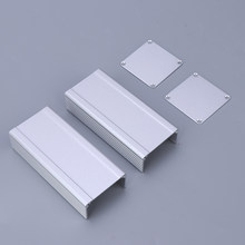 Electrical Aluminum Case Enclosure for PCB Board 46 x 46 x 100mm Project Box for Profile Daily Case(China)