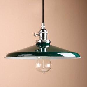 Image 4 - Permo luces colgantes de Metal Vintage de 11,8 pulgadas, lámparas de techo colgantes para pisos estilo Retro, accesorios de lámpara moderna, luminaria de luces de Navidad