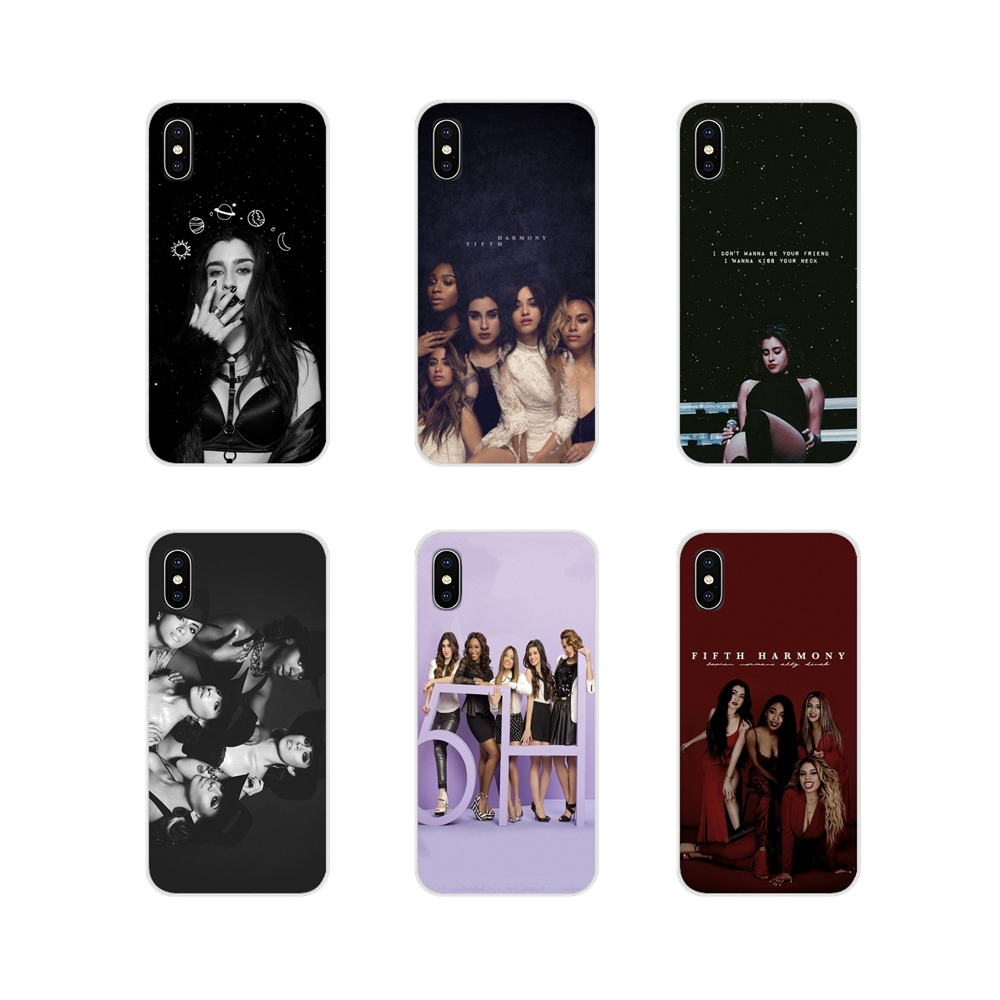 For Huawei G7 G8 P7 P8 P9 P10 P20 P30 Lite Mini Pro P Smart Plus 2017 2018 2019 5h Fifth Harmony <font><b>Lauren</b></font> Jauregui TPU Shell Cover image
