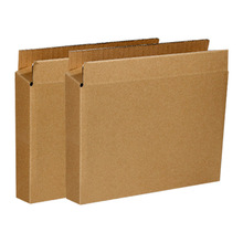 10Pcs Blank Paper Boxes 3 Layer Corrugated Boxes Rectangle Gift Packaging Box Photo Album Courier Box Mailers Business Supplies