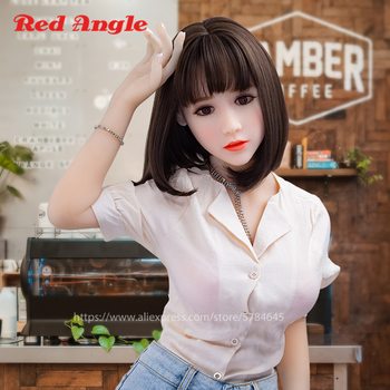 Red Angle Realistic Anime Doll Japanese Sex Robot Lifelike Silicone Sex Doll With Big Breast Real Vagina  Oral Love Doll For Man real silicone sex dolls adult japanese 165cm robot love doll mini vagina lifelike anime realistic sexy toys for men big breast