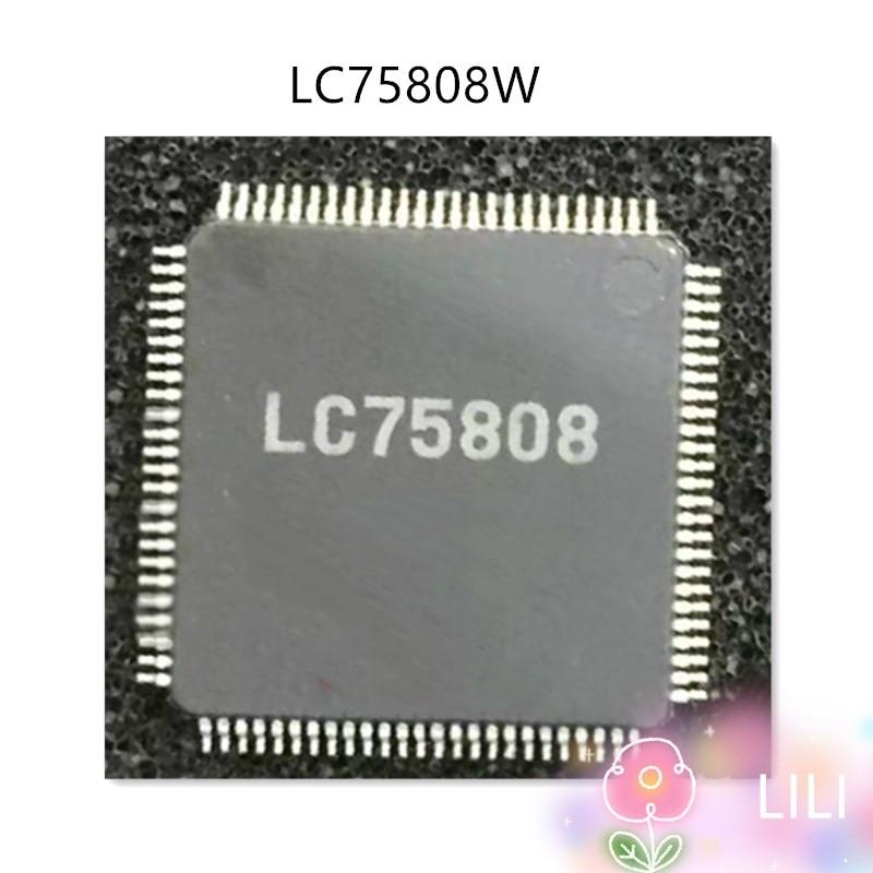 LC75808W LC75808 QFP100 100% Nouveau Original
