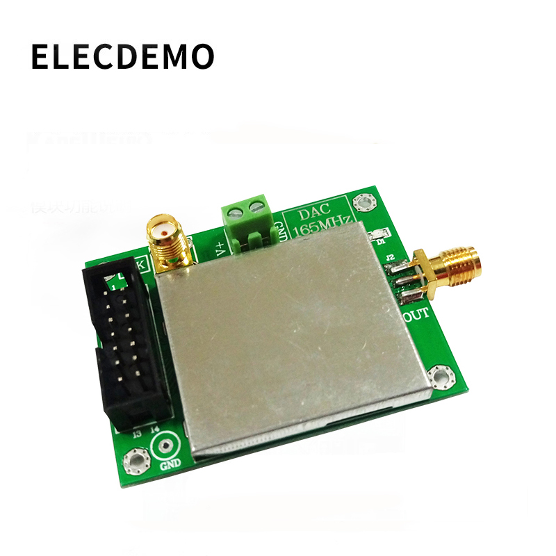 DAC902E Module High Speed DA Digital to Analog Conversion  SFDR 12 Bit 165MSPS Conway Technology Function demo Board