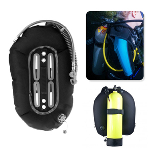 Image 1 - Scuba Diving Donut Wing 30lb/13.3kg with Single Tube Snorkeling BCD Tech Back Plate for Professional Divers Tech Equipment