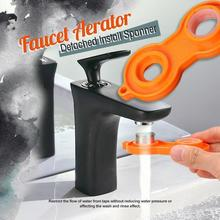 Faucet Aerator Detached Install Spanner Mini Portable Faucet Pliers Sprayer Faucet Installation Hand Tool Spanner for Faucet