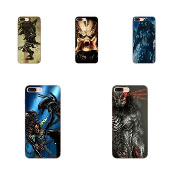 TPU Cell Phone Xenomorph Aliens Predator For Xiaomi CC9 CC9E Mi 3 4 4i 5 5S 6 6X 8 9 SE Play Plus Pro Lite A1 Mix 2 Note 3 image