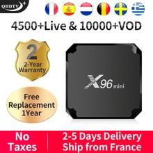 QHDTV Plus X96MINI IPTV France/Arabic/Italy/Spain Android 7.1 1+8G/2+16G X96MINI IPTV France/Arabic/Italy/Spain/Belgium X96MINI leadcool pro qhdtv plus iptv france arabic italy canada android 8 1 1 8g 2 16g iptv france arabic italy spain canada qhdtv plus