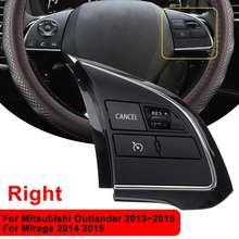 Левый/правый ABS многофункциональный аудио радио переключатель управления Рулевое колесо для Mitsubishi Outlander 2013 Mirage