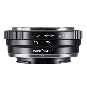Image 2 - K&F Concept FD FX Lens Adapter Ring for Canon FD Mount Lens to Fujifilm FX Mount X Pro1 X E1 X A1 X M1 Cameras Body
