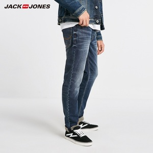 Image 2 - JackJones Winter Mens Cotton Warm Comfortable Jeans Menswear 218432514