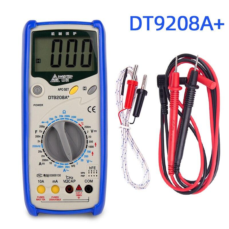 Цифровой мультиметр, профессиональный esr конденсатор, тестер напряжения переменного/постоянного тока, проверка конденсаторов, тестер Мультиметры      АлиЭкспресс