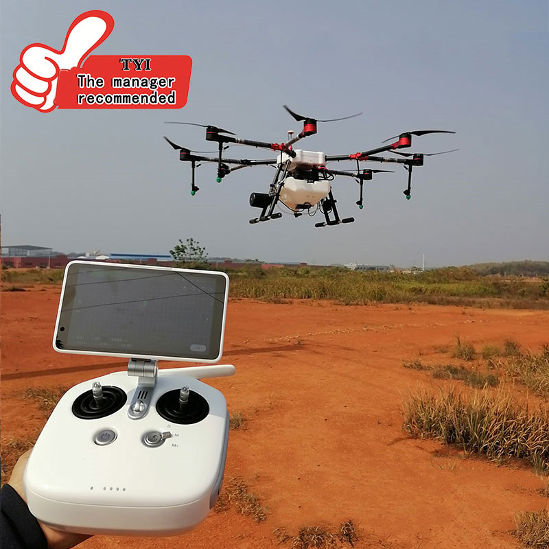 10L Sealed 8-axis 10KG China Agriculture Drone Spray System Carbon Fiber Frame Automatic Obstacle Avoidance System