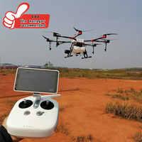 10L versiegelt 8-achse 10KG China landwirtschaft drone spray system Carbon faser rahmen automatische hindernis vermeidung system