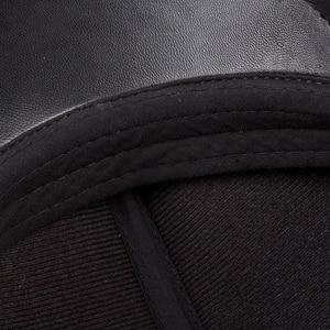 Image 5 - 新デザイン男性 100% 本革のファッション野球キャップ/キャスケットベレー帽/タクシー運転手の帽子/ゴルフ帽子フラット男性スライド高品質 HL041