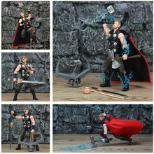 "Marvel Legends 6 ""Thor Figura de Ação Vingadores Infinito Guerra De TRU 3P One Eyed Crown de Surtur Tempestade breake Espada Collectible(China)"