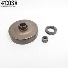 Комплект игольчатых подшипников для торцевого барабана 3/8-7T для Stihl MS660 066 064 MS640 MS661 MS 660 640, запасные части для бензопилы