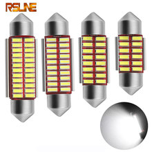 Festoon 31mm 36mm 39mm 41mm LED Bulb C5W C10W Super Bright 4014 SMD Canbus Error Free Auto Interior Doom Lamp Car Styling Light(China)