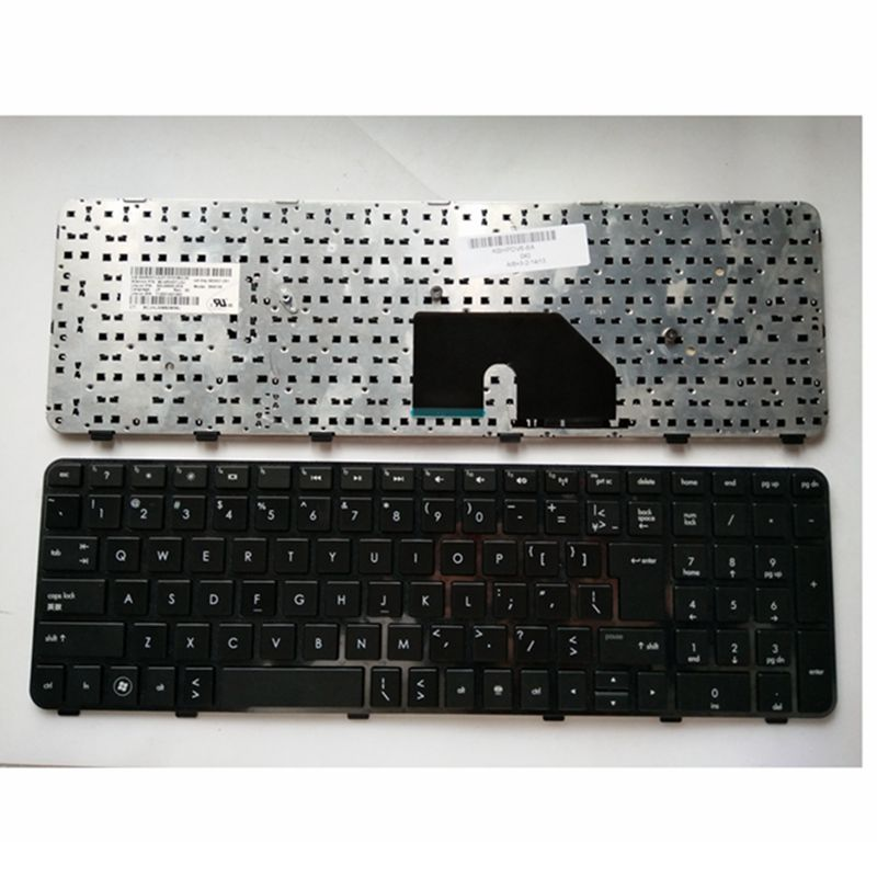 US laptop Keyboard for HP DV6 DV6T DV6 6000 DV6 6100 DV6 6200 DV6 6b00 dv6 6c00 Black English NSK HWOUS OR 665937 251-in Replacement Keyboards from Computer & Office