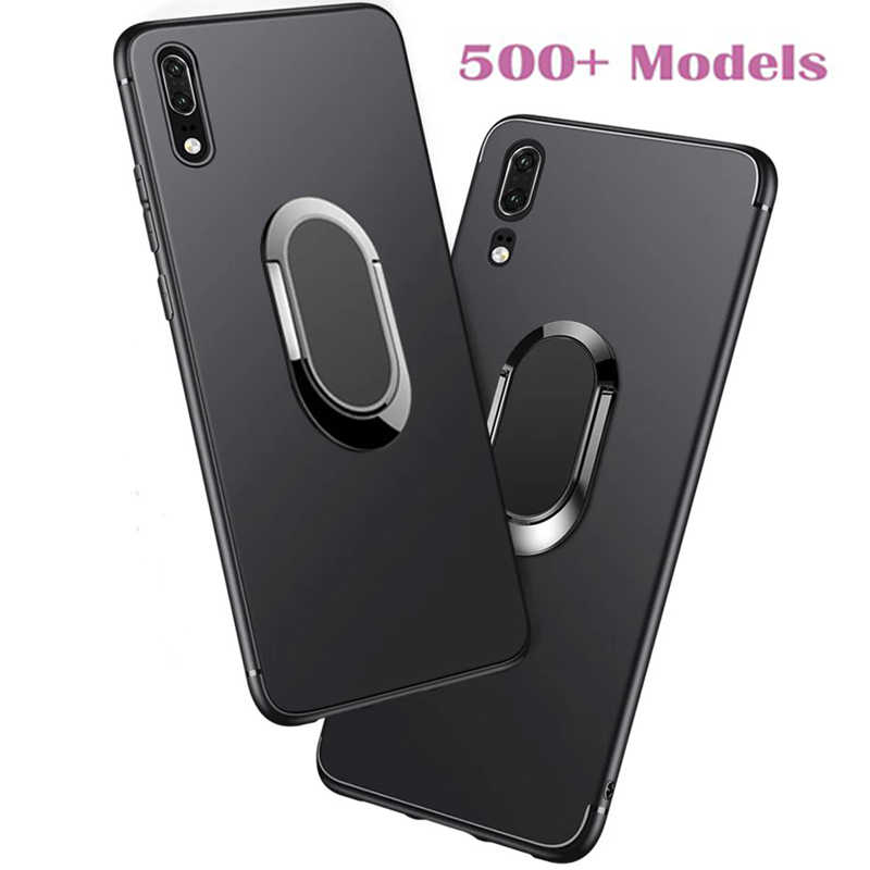 Case Voor Zte Blade A1 A506 Z10 A512 Nubia N2 A3 L8 A5 2019 A7 2020 A320 A330 Case Ring telefoon Houder Auto Magnetische Cover