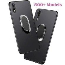 Мягкий чехол для Xiaomi Redmi Note 3 Pro 3X 3S 5 Plus Note 5A Prime Y1 1 Lite Note2, чехол с кольцом и подставкой, автомобильный Магнитный чехол для телефона