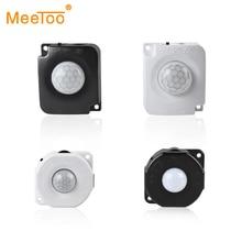 Adjustable PIR Motion Sensor Switch Smart 12V 24V 5V Body Movement Infrared Sensor Detector Timer Automatic ON/OFF Light Switch